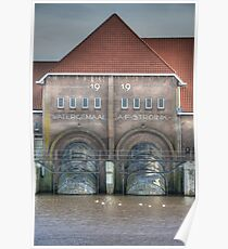 Steam pumping station I Poster