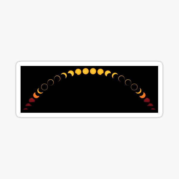 Growing Ring of Fire – 2012 Annular Eclipse Sticker