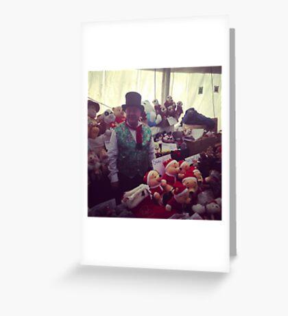 Matlock Victorian Christmas Market Greeting Card