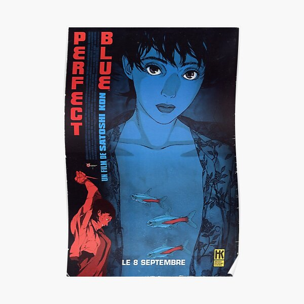 Perfect Blue Posters Redbubble