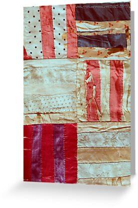 Aged Silk Quilt by kalikristine