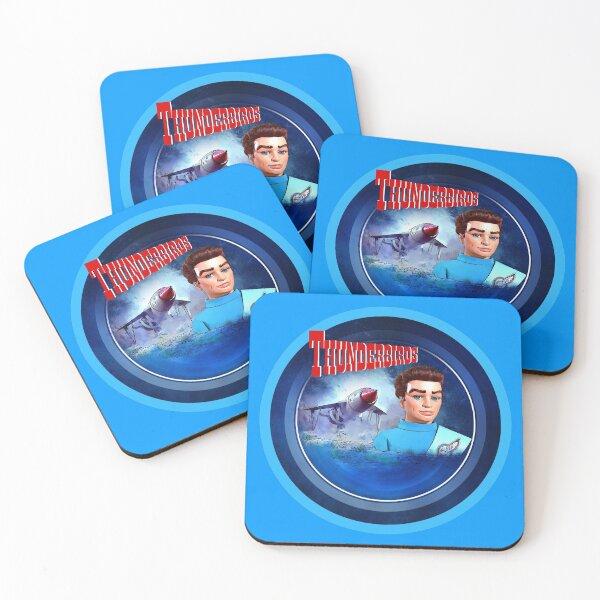 THUNDERBIRDS SCOTT TRACY 1 Coasters (Set of 4)
