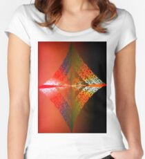 Alternative Snowflake Women's Fitted Scoop T-Shirt