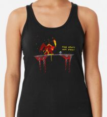 You shall not pass! Racerback Tank Top