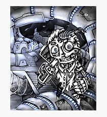 Cyborg Madness Photographic Print