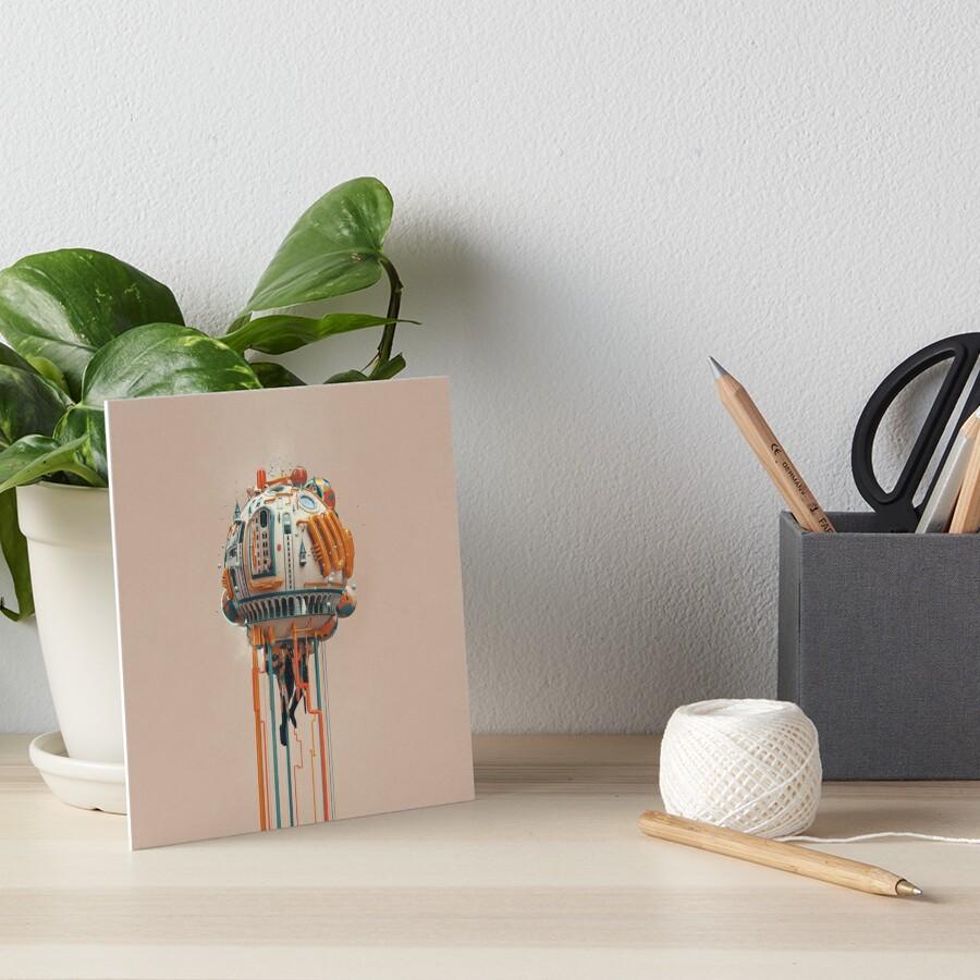 The watertower Art Board Print