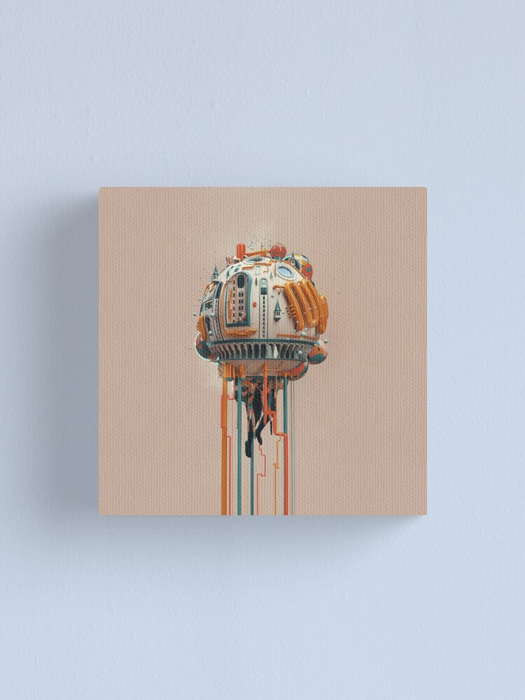 Alternate view of The watertower Canvas Print