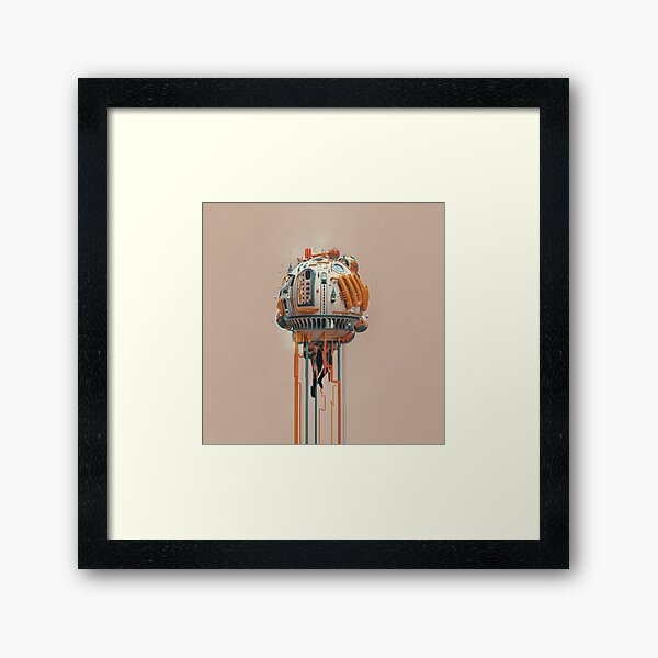 The watertower Framed Art Print