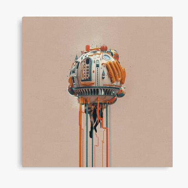 The watertower Canvas Print