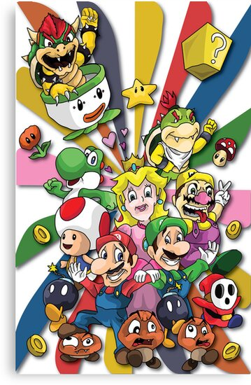 Super Mario  by Shane Williams