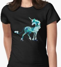 Unicorn of the Sea Womens Fitted T-Shirt