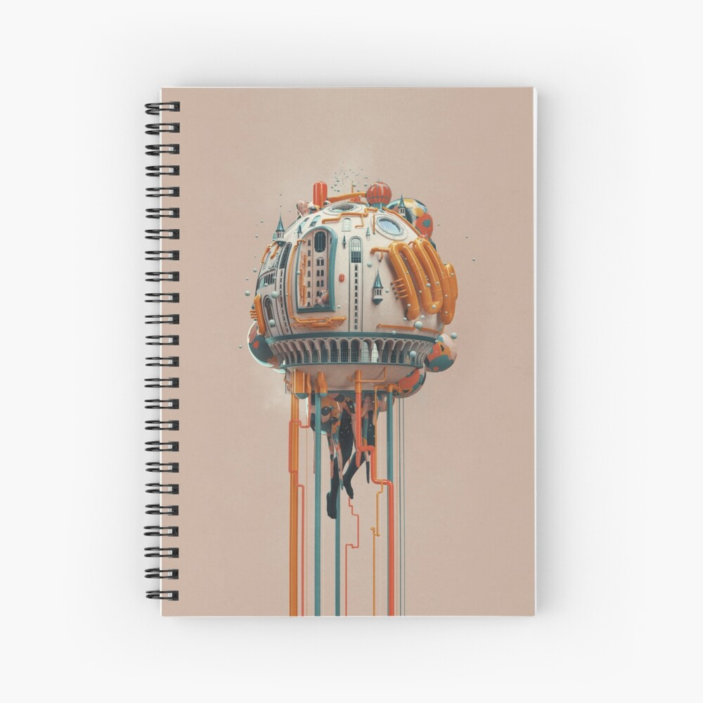The watertower Spiral Notebook