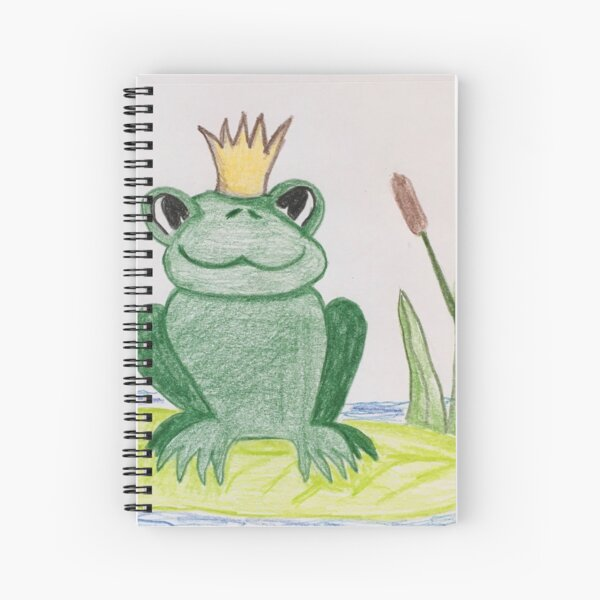 Don't FROG-get to Smile! Spiral Notebook