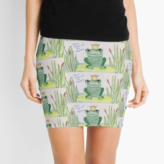 Don't FROG-get to Smile! Mini Skirt