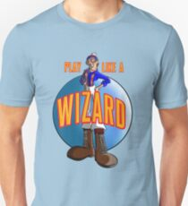 Play like a WIZARD! Unisex T-Shirt