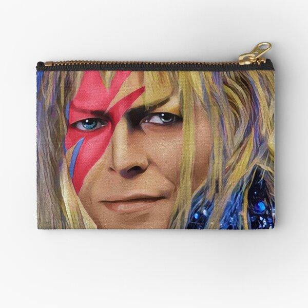 Rebel Goblin King Pop Art Zipper Pouch