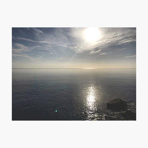 Silver sea Photographic Print