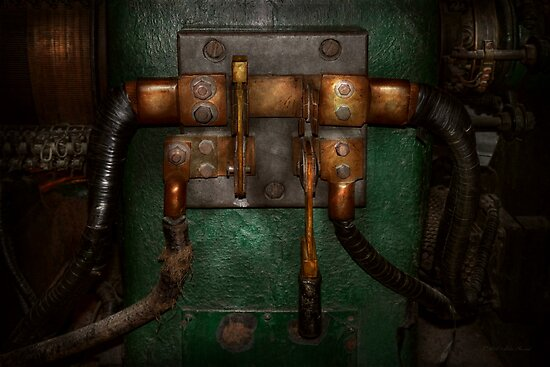 Steampunk - Electrical - Pull the switch  by Michael Savad