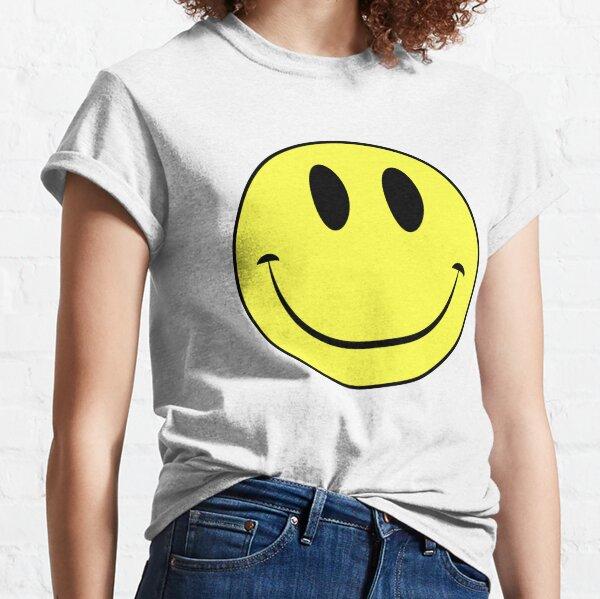 Classic Acid House Smiley Face Rave Culture Classic T-Shirt