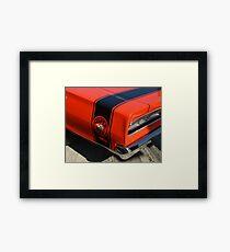 1970 Dodge Coronet Super Bee stripe Framed Print