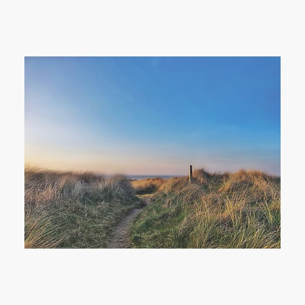Coastal path Photographic Print