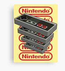 Nintendo Controller Canvas Print