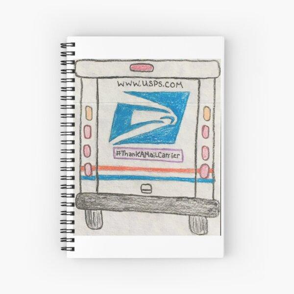 Thank a Mail Carrier Spiral Notebook