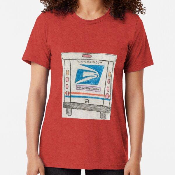 Thank a Mail Carrier Tri-blend T-Shirt