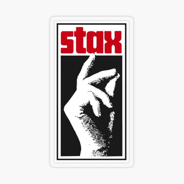 Stax Records Transparent Sticker