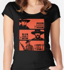 BTTF: The good, the bad and the ugly Women's Fitted Scoop T-Shirt