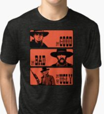 BTTF: The good, the bad and the ugly Tri-blend T-Shirt