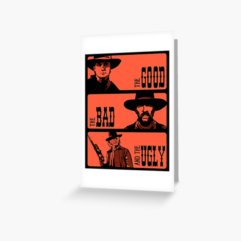 BTTF: The good, the bad and the ugly Greeting Card