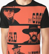 BTTF: The good, the bad and the ugly Graphic T-Shirt