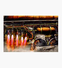 Steampunk - Train - The super express  Photographic Print