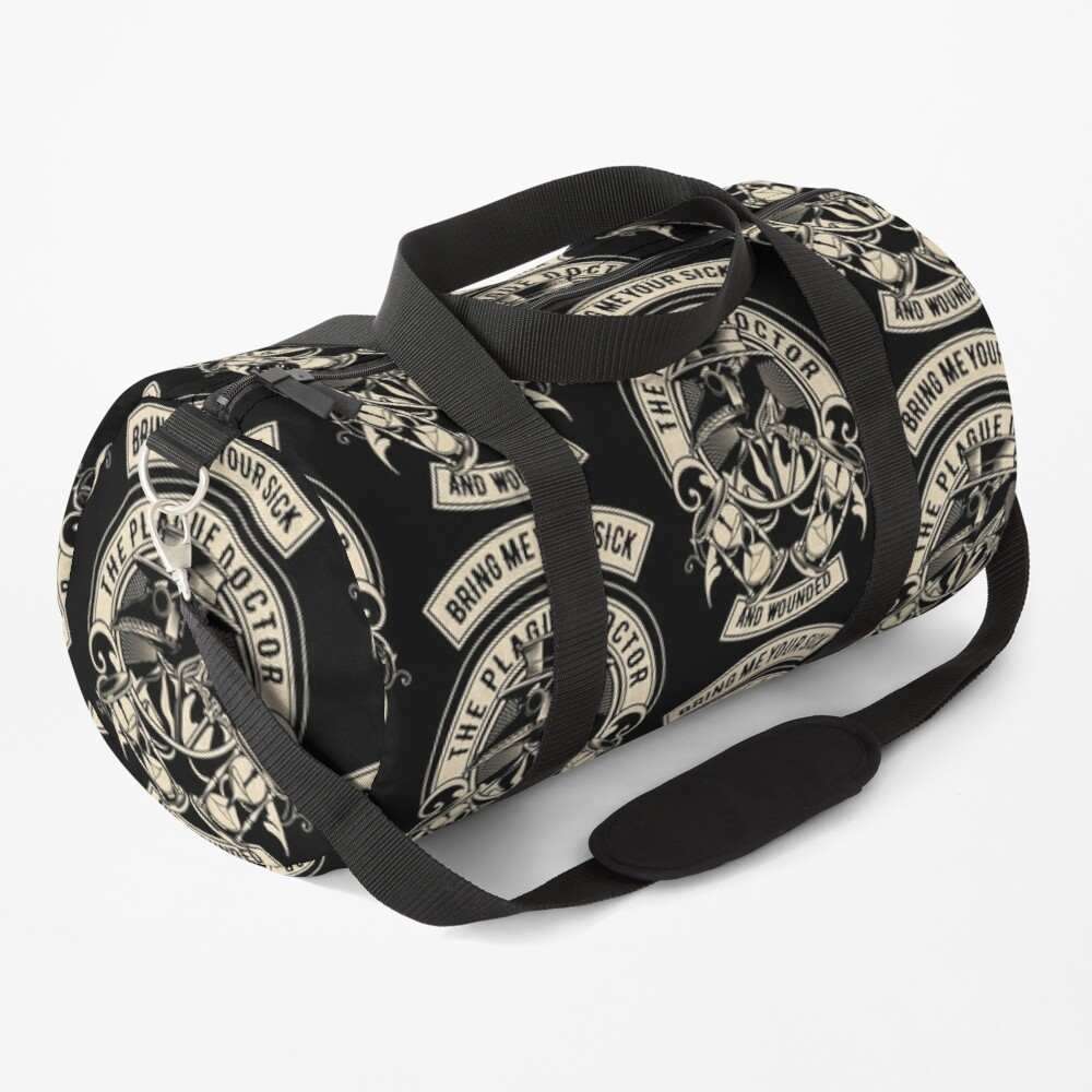 The Plague Doctor Duffle Bag