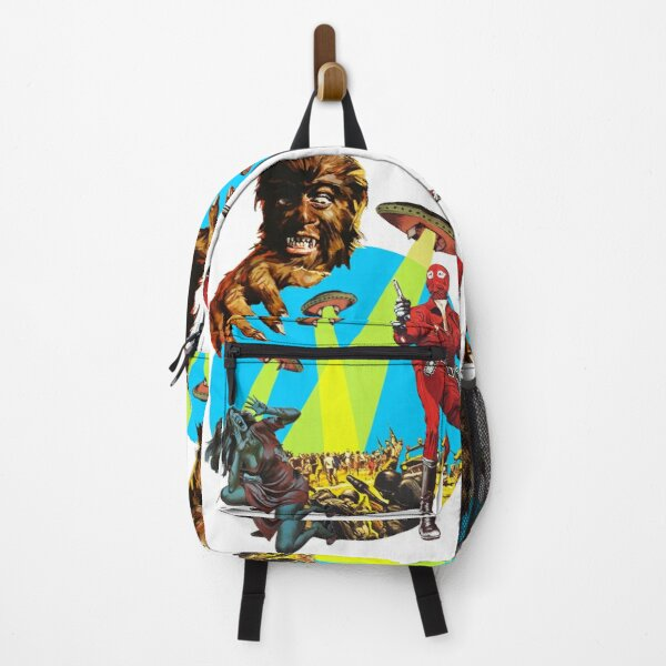 Invasion of the Wolfman from Outer Space Backpack