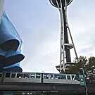 Seattle: Space Needle, EMP & Monorail by Danielle Cardenas