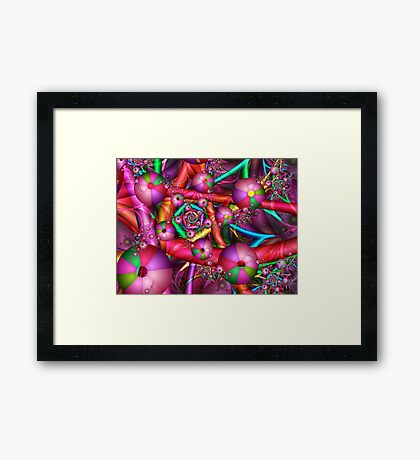 Joyful New Year Framed Print