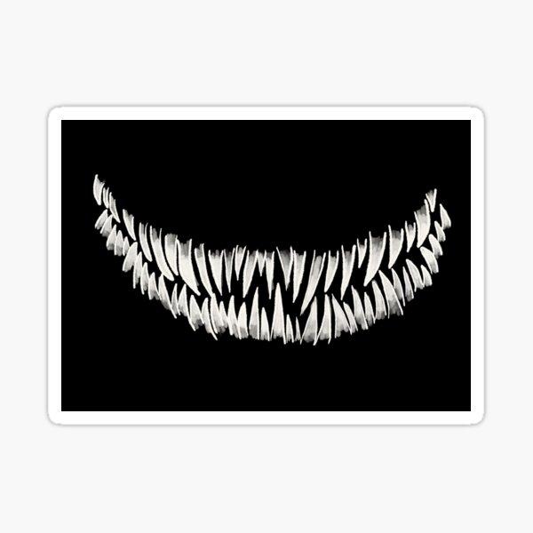 Monster teeth Sticker