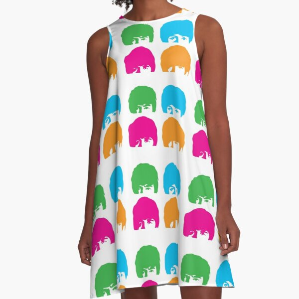 hard day silhouette sgt pepper A-Line Dress