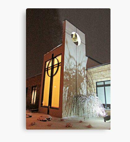 On A Winter's Night Metal Print