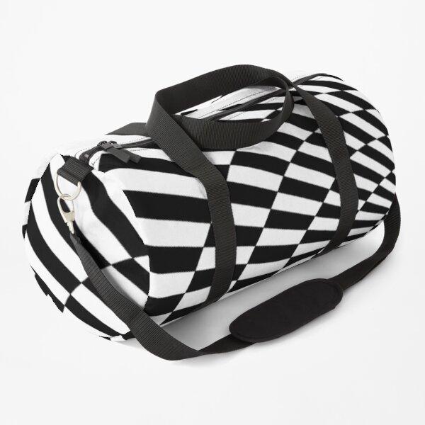 Op-art 3D cone Duffle Bag