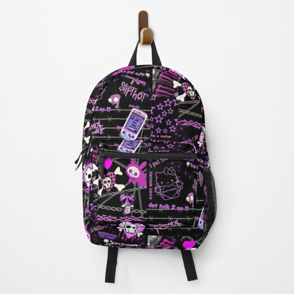 y2k scene aesthetic Backpack