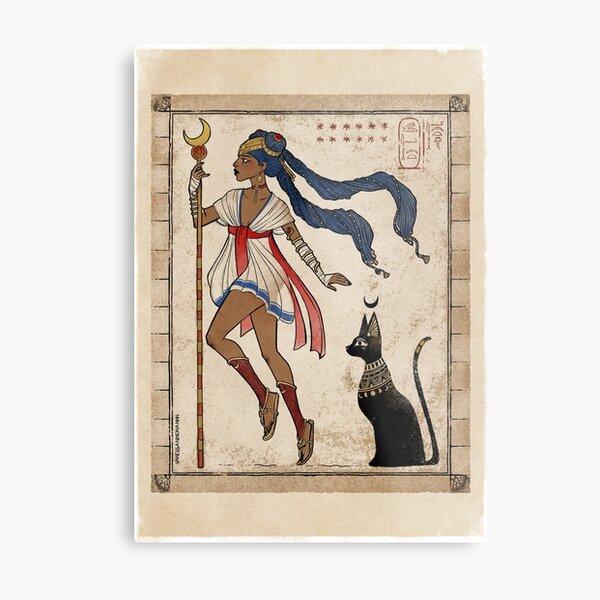 Sailor Moon Magical Kemet girl Metal Print