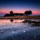 sunrise over st. joseph's sound by james smith