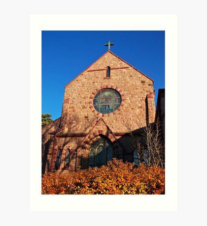 Church of St. Augusta Art Print