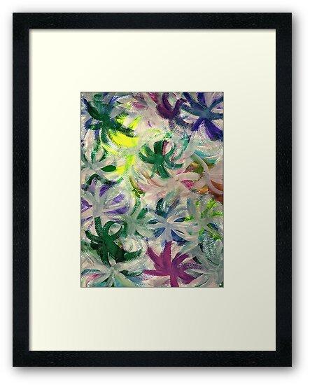 RAINBOW FLOWERS by karen66