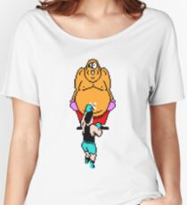 Punch Out King Hippo Women's Relaxed Fit T-Shirt