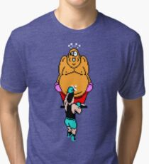 Punch Out King Hippo Tri-blend T-Shirt