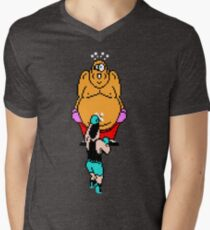 Punch Out King Hippo Men's V-Neck T-Shirt